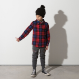 Minti Snappy Flannel Shirt Red Check