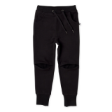 Minti Trackies Hidden Knee Black