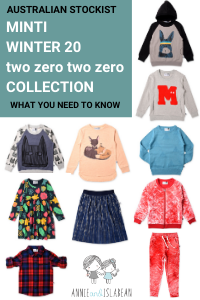 Minti Winter 20 - The Winter two zero two zero collection