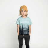 Munster Kids Flood T-Shirt Blue Tie Dye