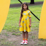 Oomph and Floss Rhinoceros Dress - Yellow
