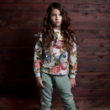 Paper Wings Roses Sweater Winter 20 Girls