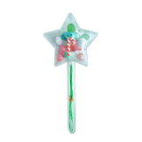 Red Bobble Candy Cane Star Build It Yourself Kit