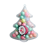 Red Bobble Christmas Tree Build It Yourself Kit