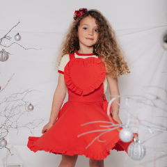 Rock Your Baby Love Heart Audrey Dress