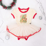 Rock Your Baby Reindeer Joy Bodysuit Dress