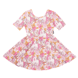 Rock Your Baby Retro Unicorn Mabel Dress