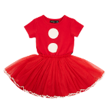 Rock Your Baby Santa Baby Circus Dress