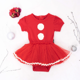 Rock Your Baby Santa Baby Bodysuit Dress