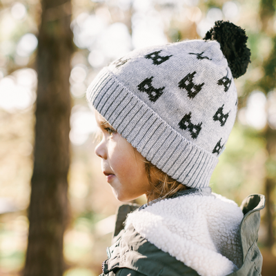 Acorn Bat Beanie - Annie and Islabean