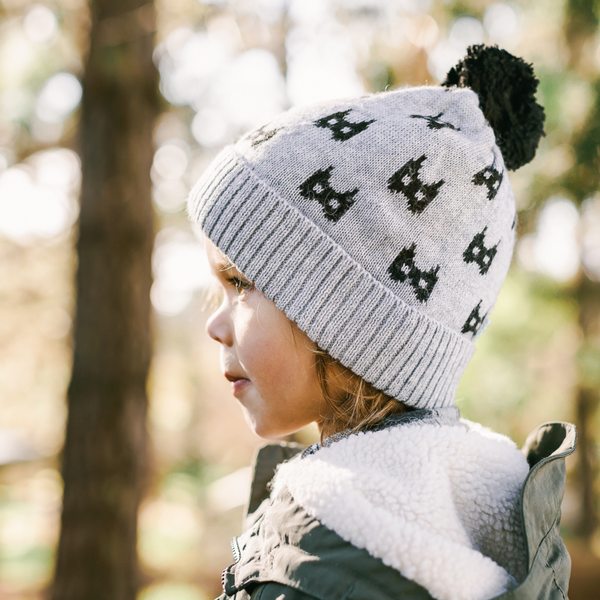 Acorn Kids Bat Beanie, Beanie, Acorn Kids - Annie and Islabean