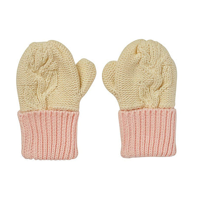 Acorn Kids Olive Branch Mittens Cream, Mitten, Acorn Kids - Annie and Islabean