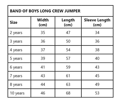 Band of Boys Night Time Cruiser Crew, Jumper, Band of Boys - Annie and Islabean