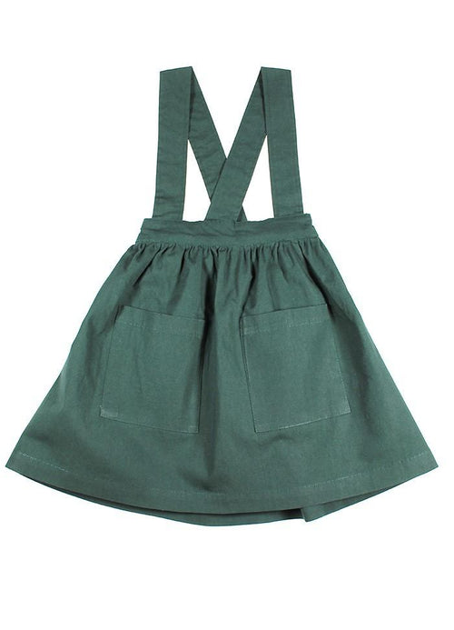 Sunday the Label Forest Green Pinafore
