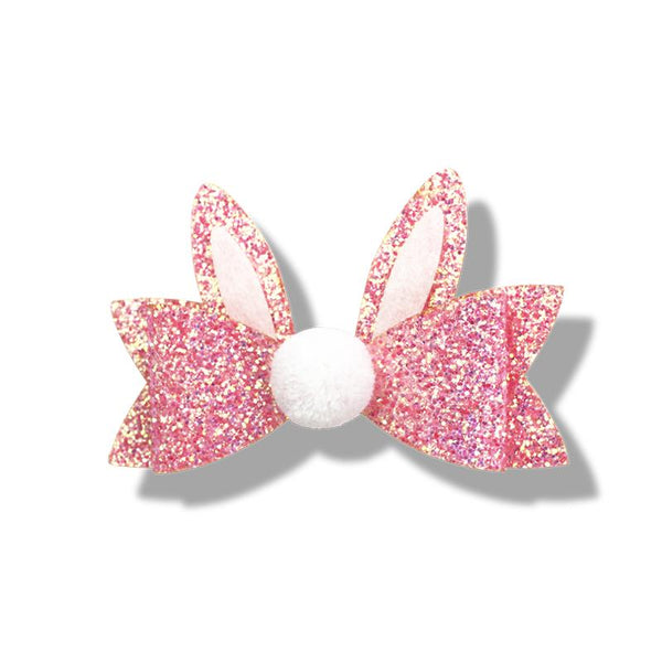 Glitter Bunny Duck Clip, Hair Accessories, Clips, Milk & Soda - Annie and Islabean