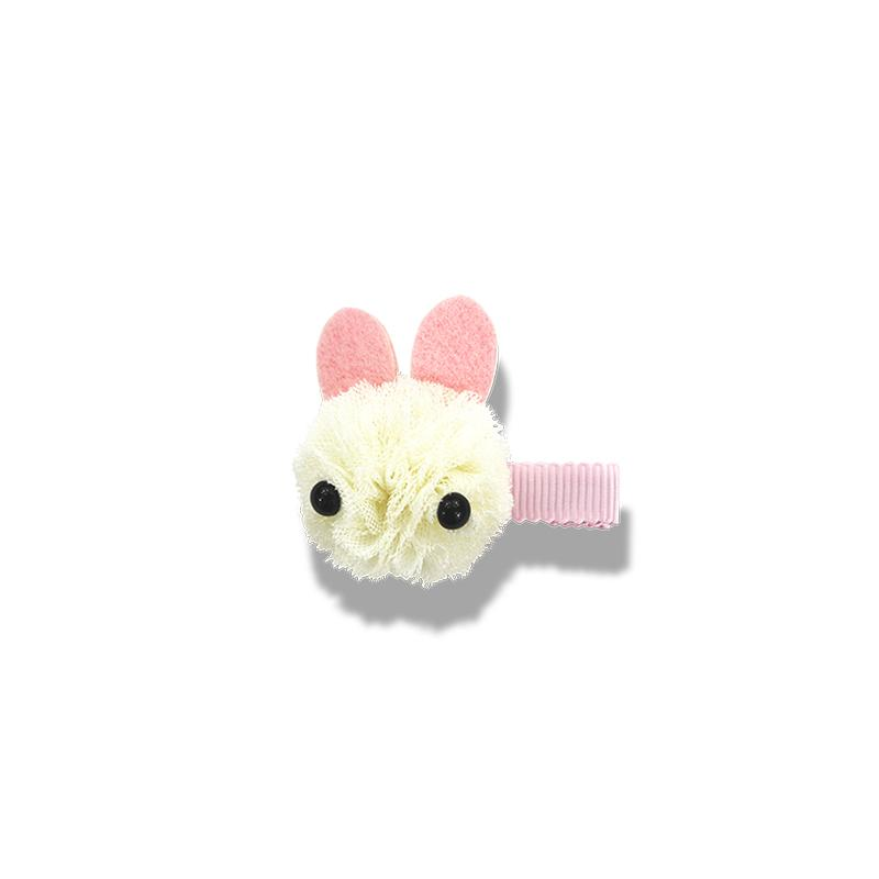 Milk & Soda Tulle Bunny Duck Clip - Ivory - Annie and Islabean