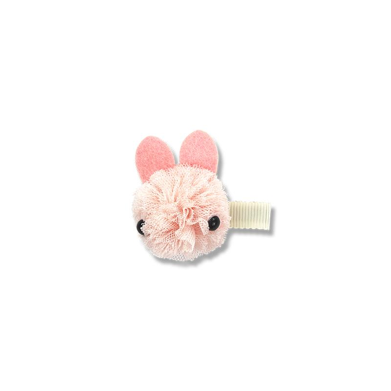 Milk & Soda Tulle Bunny Duck Clip - Pink - Annie and Islabean