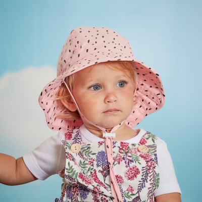 Acorn Rosy Day Infant Hat - Annie and Islabean