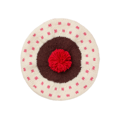 Acorn The Sundae Beret Pink - Annie and Islabean