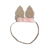 Arch N Ollie Cottontail Pom Pom Elastic Headband - Annie and Islabean