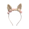 Arch N Ollie Cottontail Floral Headband - Annie and Islabean
