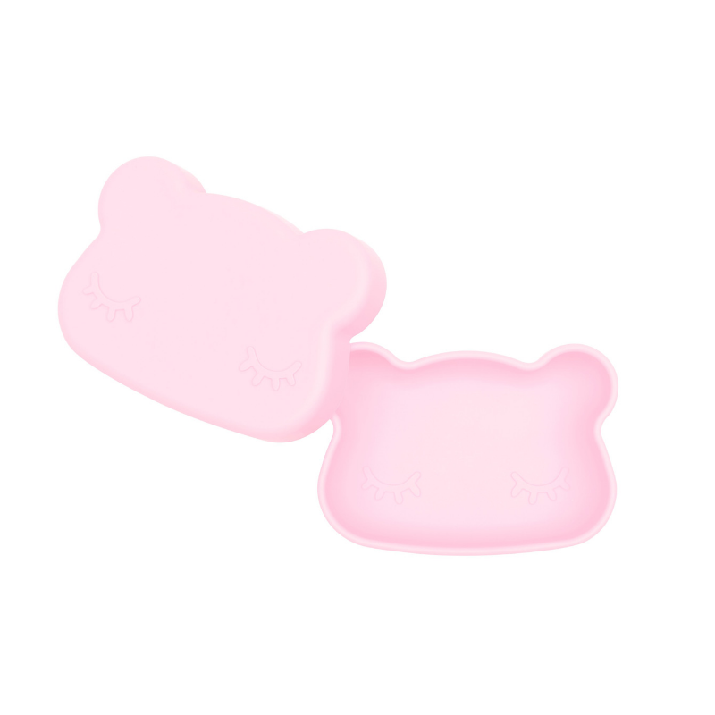 We Might Be Tiny Bear Snackie - Powder Pink - Annie and Islabean