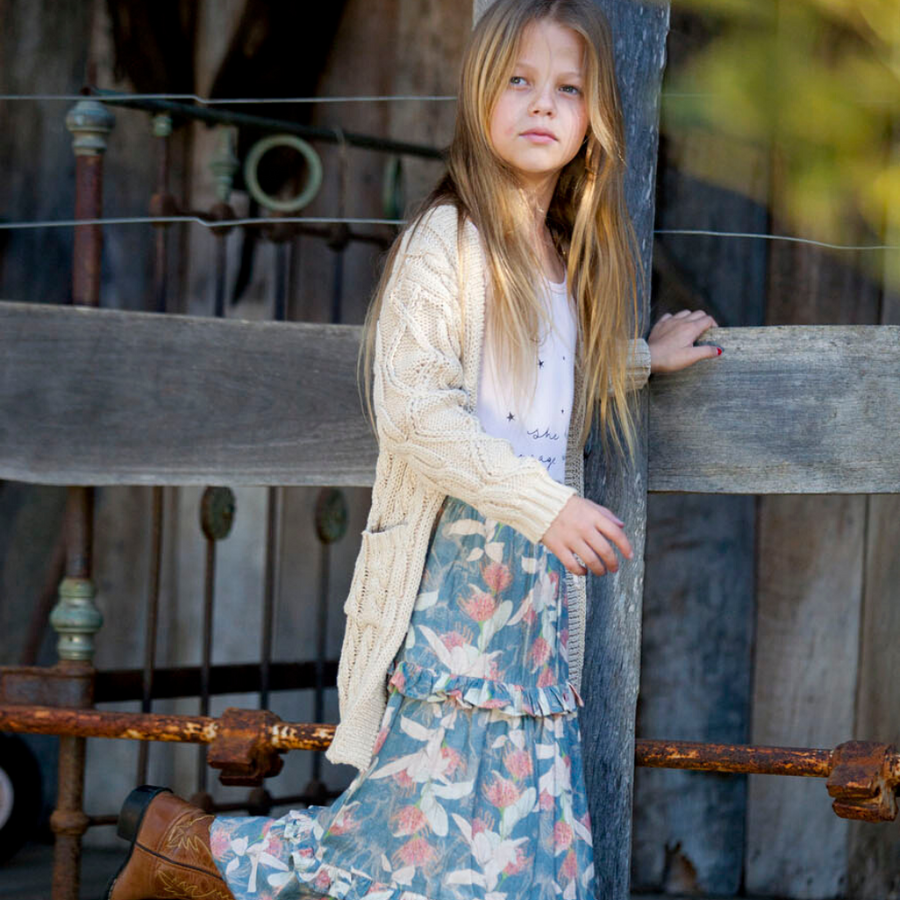 Bella and Lace Dixie Skirt - Poney Fields