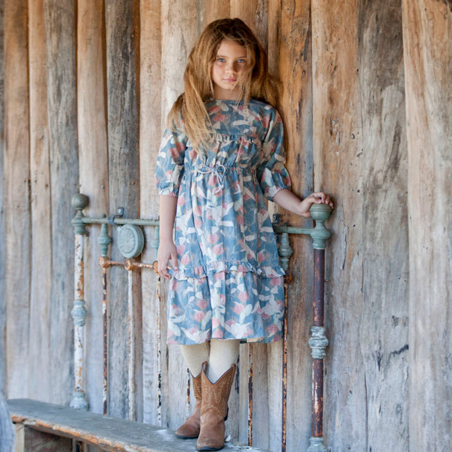Pre-order Bella and Lace Dolly Dress - Poney Fields