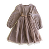 Pre-order Bella and Lace Greta Dress - Mushroom - Annie and Islabean