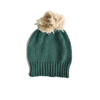 Bella and Lace Pom Pom Beanie - Green Hills - Annie and Islabean