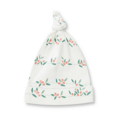 Sapling Child Berry Buds Knotted Hat - Annie and Islabean