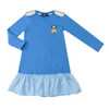 Blue Vikings Dress - Annie and Islabean