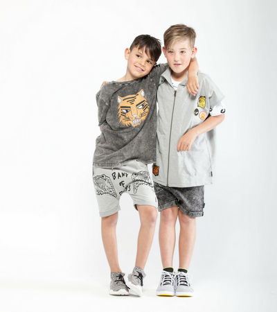 Band of Boys Crown Tiger Relaxed Shorts - Annie and Islabean