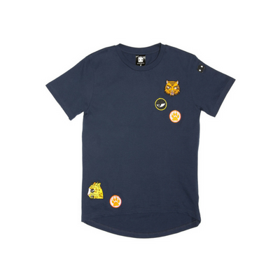 Band of Boys Cat Badges Tee - Annie and Islabean