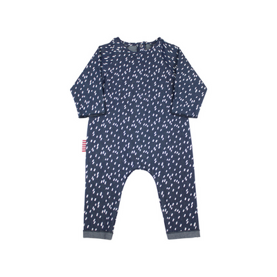 Chambray Rain Romper - Annie and Islabean