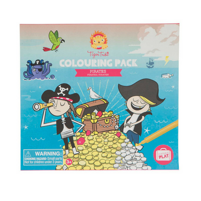 Colouring Pack - Pirates, Tiger tribe - Annie and Islabean