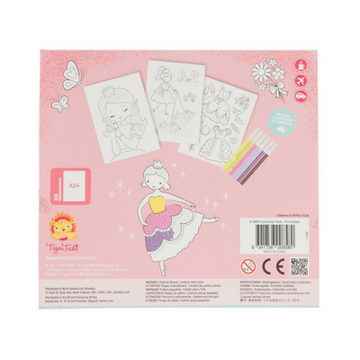 Colouring Pack - Princesses, Tiger tribe - Annie and Islabean
