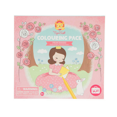 Tiger Tribe Colouring Pack - Princesses - Annie and Islabean