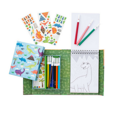 Colouring Set - Dinosaur - Annie and Islabean