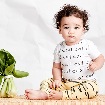 Cool Cat Bodysuit, SOOKIbaby - Annie and Islabean