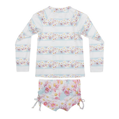 Daisy Deer Rashie Set, Paper Wings - Annie and Islabean
