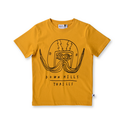 Downhill Thrills Tee, Minti - Annie and Islabean