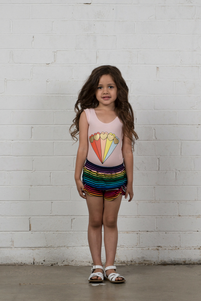 Hootkid Feel the Love Leotard - Annie and Islabean