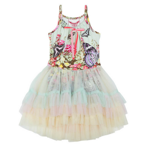 Pre-order Flower Garden Leotard Dress