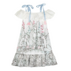 Garden Fairies Off Shoulder Dress, Paper Wings - Annie and Islabean