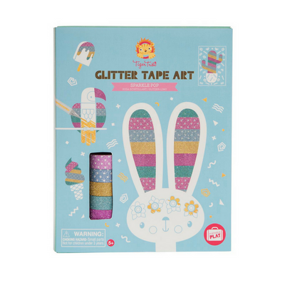 Glitter Tape Art - Sparkle Pop, Tiger tribe - Annie and Islabean