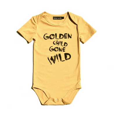 Golden Child Bodysuit, Little Lords - Annie and Islabean