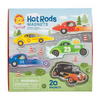 Tiger Tribe Hot Rod Magnets - Annie and Islabean
