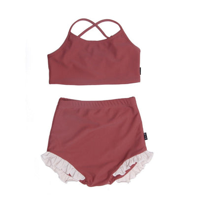 Luciana Swimsuit - Rosewood