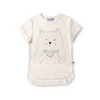 Hungry Bear Drop Tee, Minti - Annie and Islabean